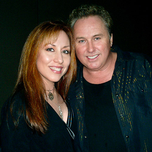 Luna Jade with Mike Reno (Loverboy) ~ LunaJade.com